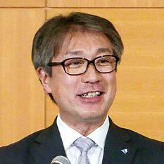 東法連青連協会長 遠藤正幸の写真