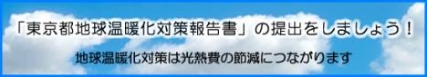 東京都地球温暖化対策報告書